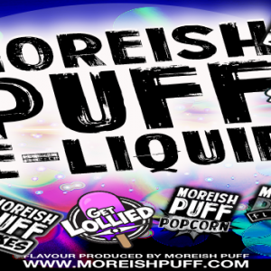 10 ranges from Moreish Puff UK